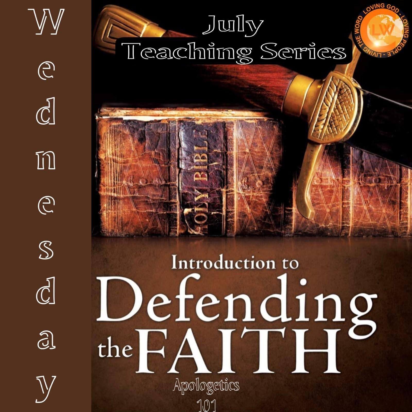 Defend The Faith