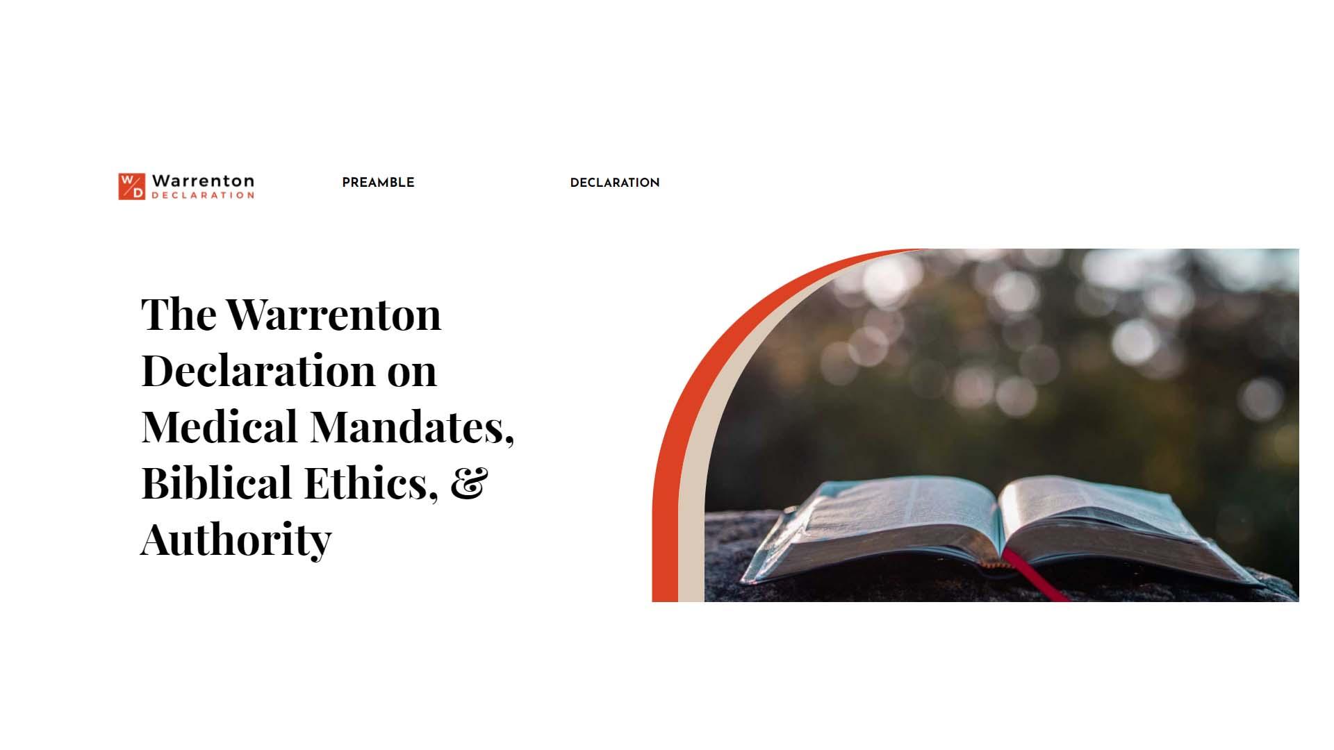 Warrenton Declaration Image
